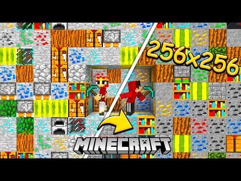 BLOCKED IN COMBAT NA TEKSTURACH 256x256 CHALLENGE - MINECRAFT