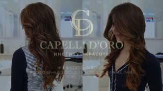 видео Окрашивание балаяж на темные волосы: фото до и после