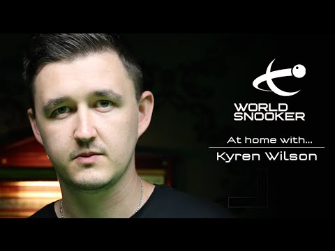 At Home with Kyren Wilson