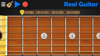 Anji - Dia (Tutorial Real Guitar Android)