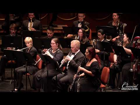 "ASU Wind Orchestra perform Hindemith: March from ""Symphony Metamorphosis"""
