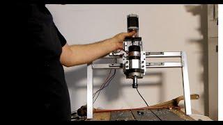 new version of DIY extrusion screw maker in process (чпу для изготовления шнеков своими руками)Part1
