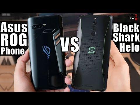 Xiaomi Black Shark Helo vs Asus ROG Phone: Compare Best Gaming Phones 2018 #2