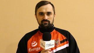 Rozmowa z trenerem Energi Net Mateuszem Mielnikiem