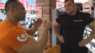 СЕКРЕТНАЯ тренировка ног от Александра Федорова и Кузнецова Алексея