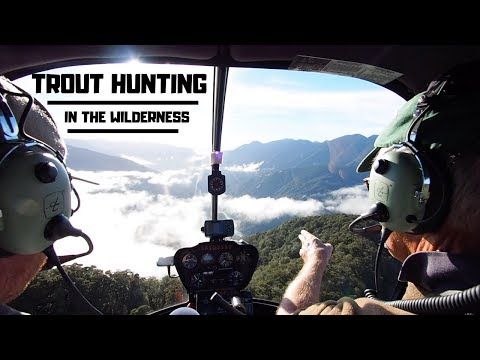 TROUT HUNTING IN THE WILDERNESS -  Part 1 [New Zealand]
