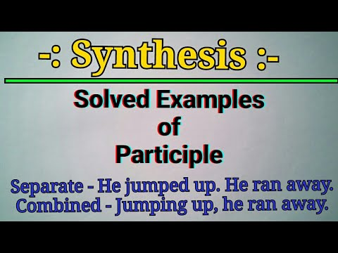 Synthesis Of Sentences Combination Of Simple Sentences Into One
