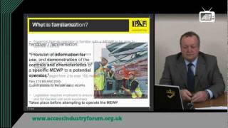 IPAF MEWP Familiarisation Toolbox Talk