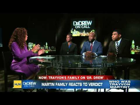 Dr Drew 07-18-13 Trayvon Martin Family