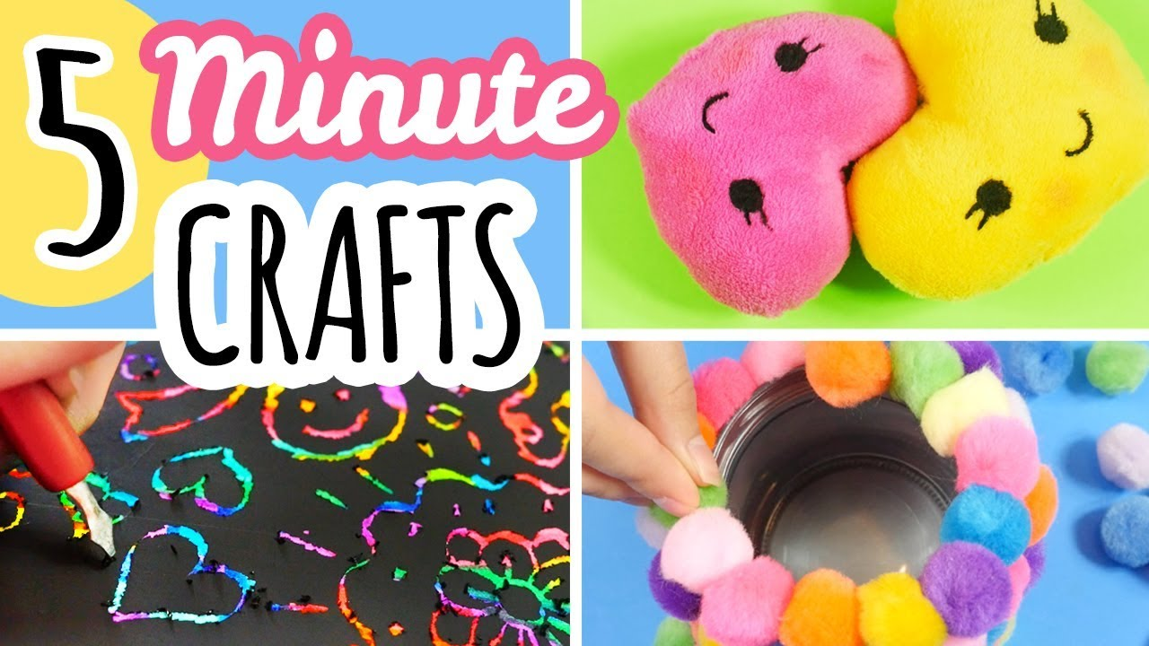 5 Minute Crafts To Do When You Are Bored Youtube