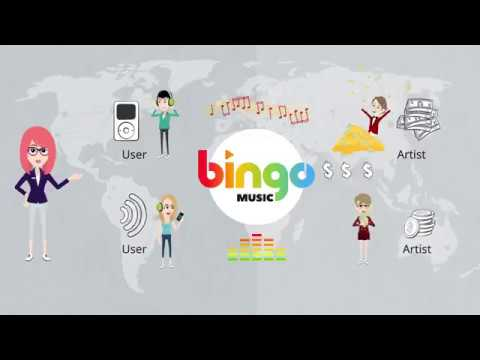 빙고뮤직 애니메이션  [Bingo Music Platform Animation]