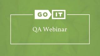 Quality Assurance. Вебинар о Курсе QA по Системе Blended Learning. GoQA. GoIT