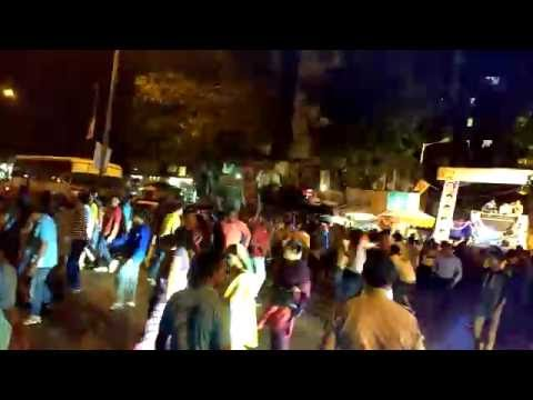 Zingaat Crazy Dance Crowd On Road Visarjan Sohla | P&T Colony | Santacruz Mumbai | VMD