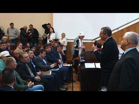 Встреча врио Губернатора Сахалинской области Лимаренко В. И.