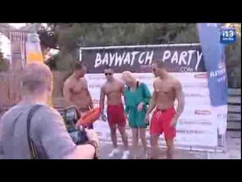Wereldberoemde Baywatch Babe Erika Eleniak Bezoekt Tilburg