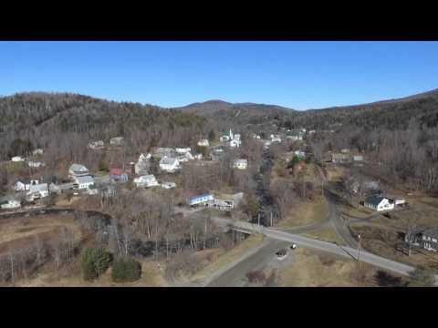 Aerial View of Marshfield VT - DJI Phantom 3 Drone