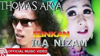 Gambar cover Izinkan - Thomas Arya feat Iqa Nizam ( Funkot Remix )