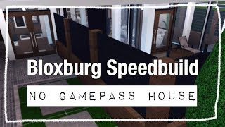 No Gamepass Modern House (Mobile)~Roblox Welcome To Bloxburg