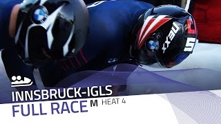 Innsbruck-Igls | BMW IBSF World Championships 2016 - 2-Man Bobsleigh Heat 4 | IBSF Official