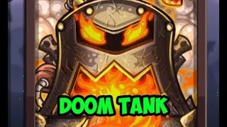 Kingdom Rush Vengeance - DOOM TANK - FULL HERO REVIEW