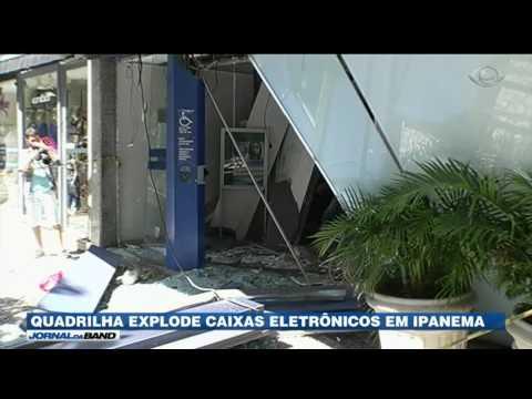 RJ: Quadrilha explode caixas eletrônicos
