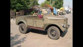 Мужик прокачал  старый ГАЗ -69  1972 года/  ИЗ ХЛАМА  в КОНФЕТКУ .