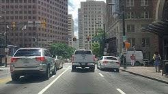 Driving Downtown - Atlanta - USA