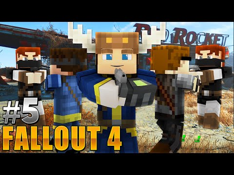 Fallout - CLOSE CALL! (Minecraft Roleplay) #5