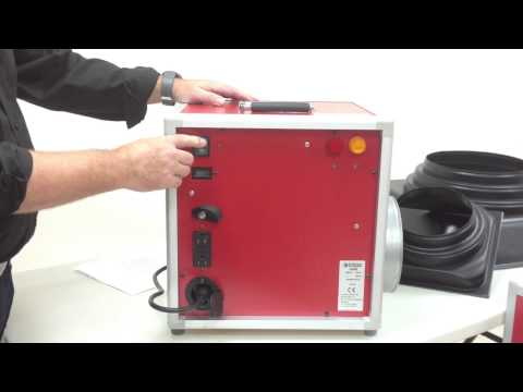 A600 and A1200 Air Scrubbers from Ermator