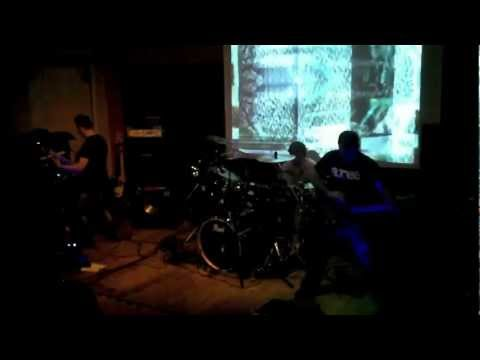 Infection Code - Collapse of the red side  live at Officine Sonore Vercelli