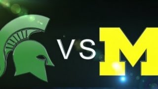 2015-10-17 No. 7 Michigan State at No. 12 Michigan No Huddle