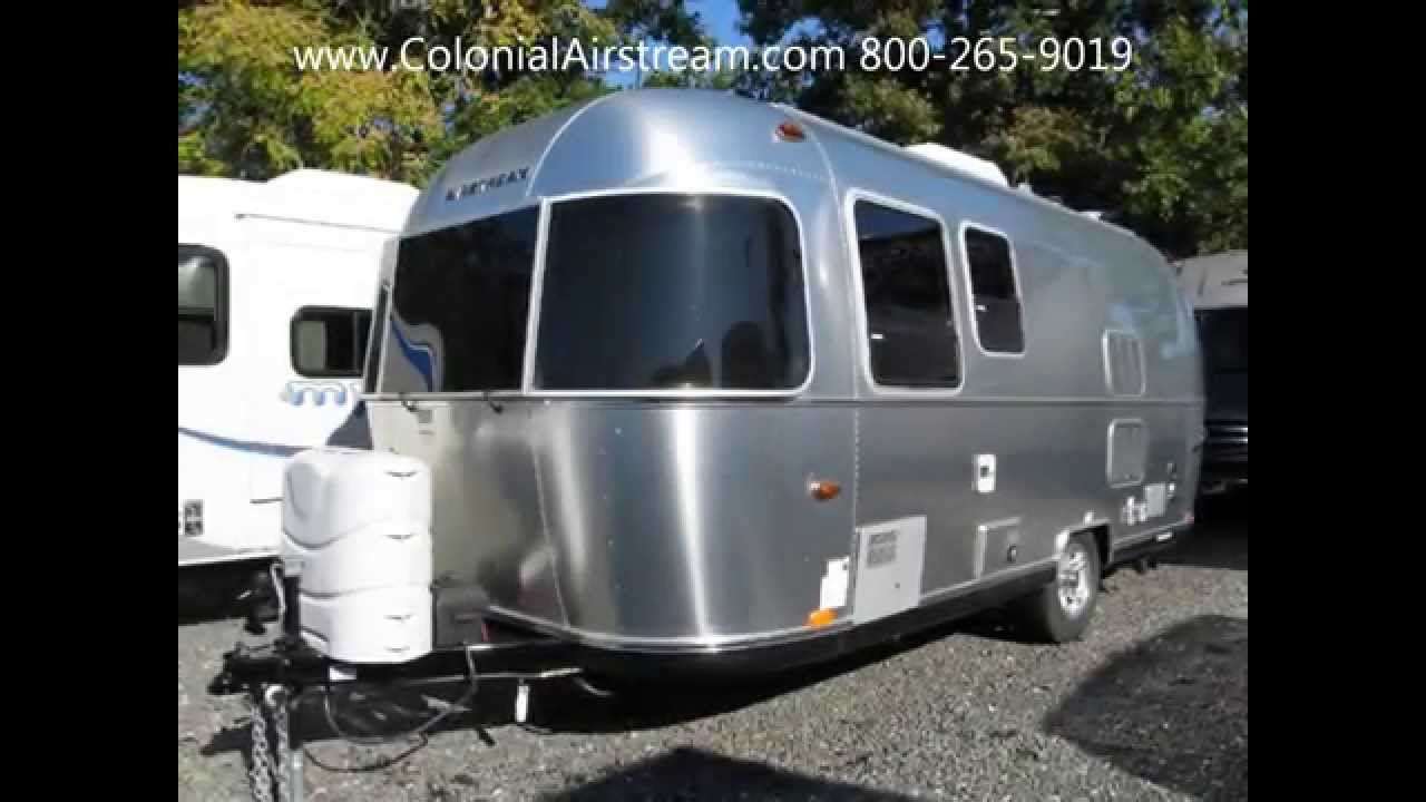 2015 Airstream Sport 22FB Bambi Golden Tiny Light Weight Camping Trailer  Towable With SUV