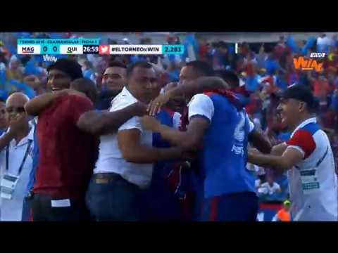 Unión Magdalena vs Quindío (2-1) | Torneo Aguila 2018 | Cuadrangulares Fecha 5