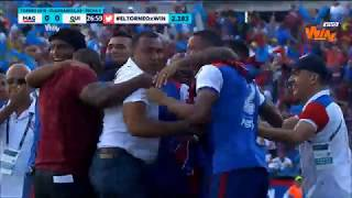 Unión Magdalena vs Quindío (2-1)   Torneo Aguila 2018   Cuadrangulares Fecha 5