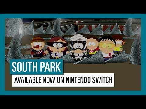 South Park: The Fractured But Whole is available now on the Nintendo Switch™