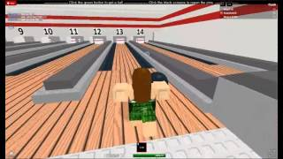 Roblox Bowling Alley Tutorial, ROBLOX, With k9gal18 :)