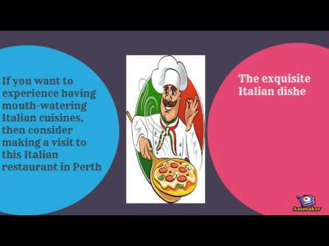 Italian restaurants in east perth wa
