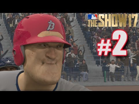 PROFESSIONAL DEBUT! | MLB The Show 17 | Road to the Show #2