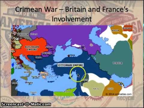 AP European History: Period 3: Crimean War Part I
