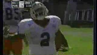 NCAA Football:  Illinois vs. Purdue (2001)