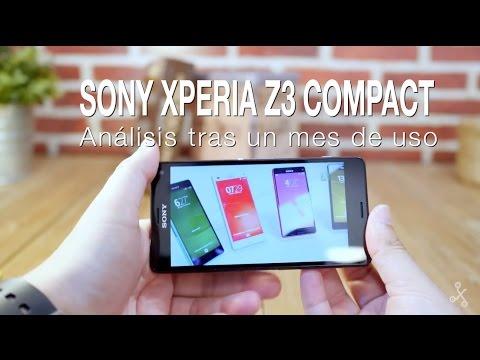 Sony Xperia Z3 Compact, análisis tras un mes de uso