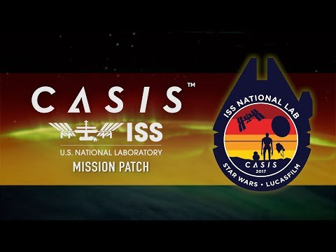 CASIS and Lucasfilm ISS National Laboratory patch
