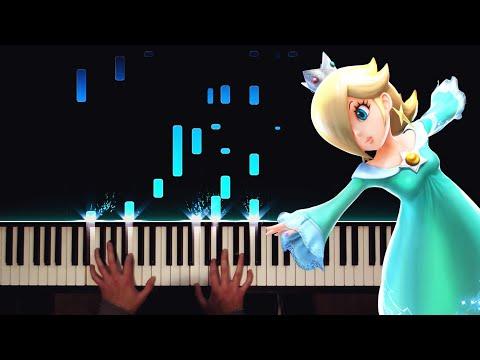 Super Mario Galaxy - Rosalina's Observatory Piano (Waltz Variations)
