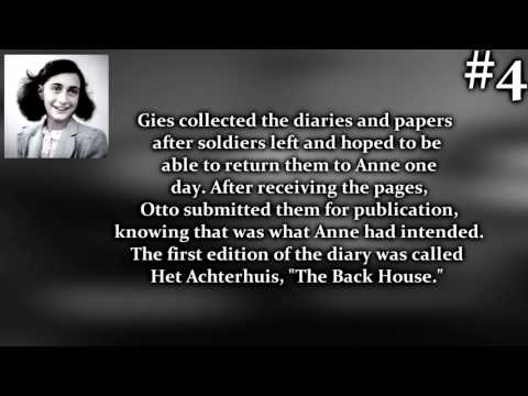 10 Facts about Anne Frank