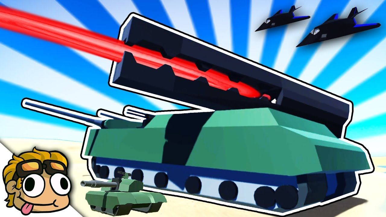 BIGGEST TANK EVER vs STEALTH BOMBERS! | Ravenfield Weapon and Vehicle Mod  Beta Gameplay