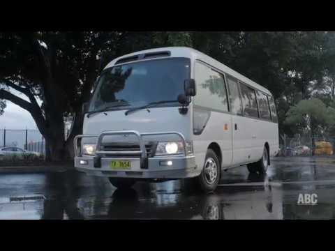 b2a189787e BUS REVIEW  Toyota Coaster - YouTube