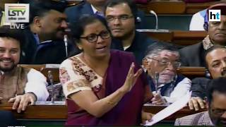 Nirmala Sitharaman tears into Congress on the Rafale allegations