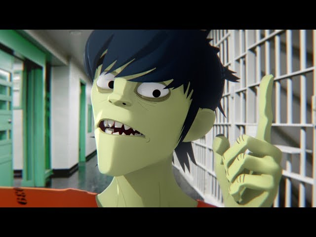 Gorillaz - Best Band (BRIT Awards 2018)
