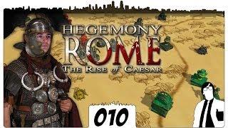 Hegemony Rome #010 - Ganz Gallien?| The Rise of Caesar German Gameplay