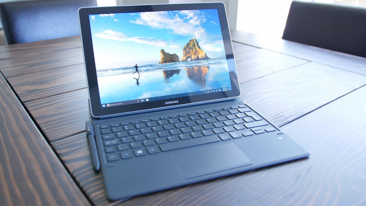 SAMSUNG GALAXY BOOK 12 REVIEW || 💩 Keyboard 😍 Tablet